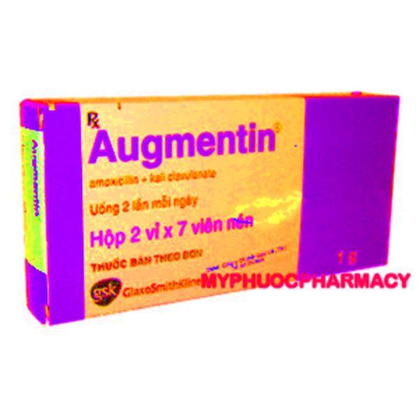 augmentin comprimé 1 g