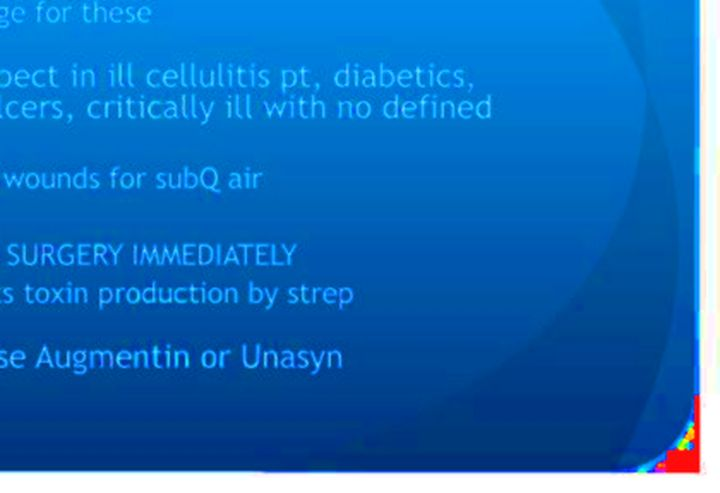 augmentin et infection cutanée