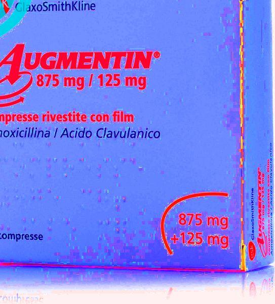augmentin ganglion