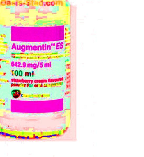 extravasation augmentin